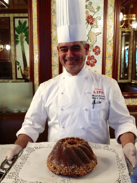 Pascal Jounault, chef cuisinier de la Brasserie Lipp