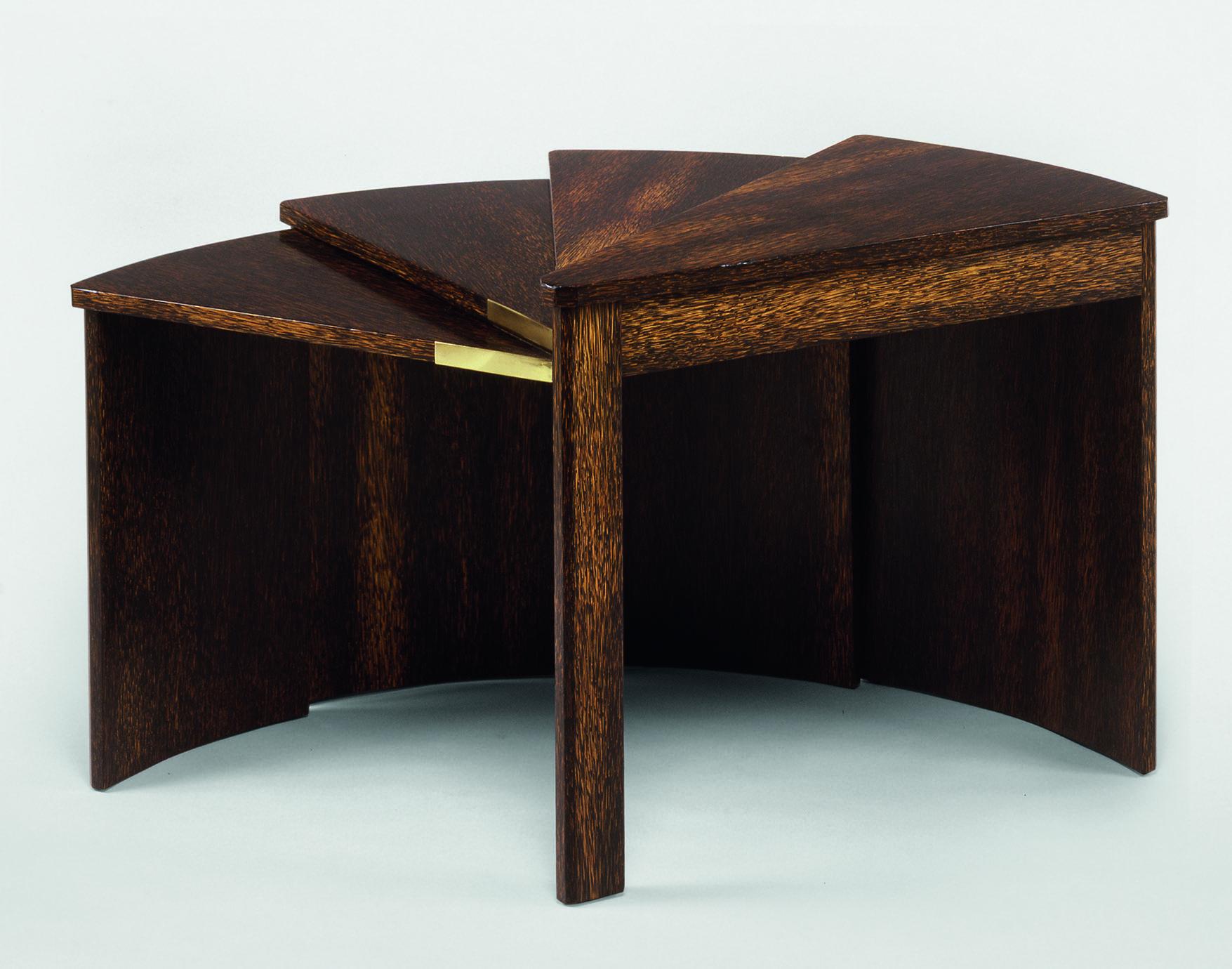Table-éventail de Pierre Chareau