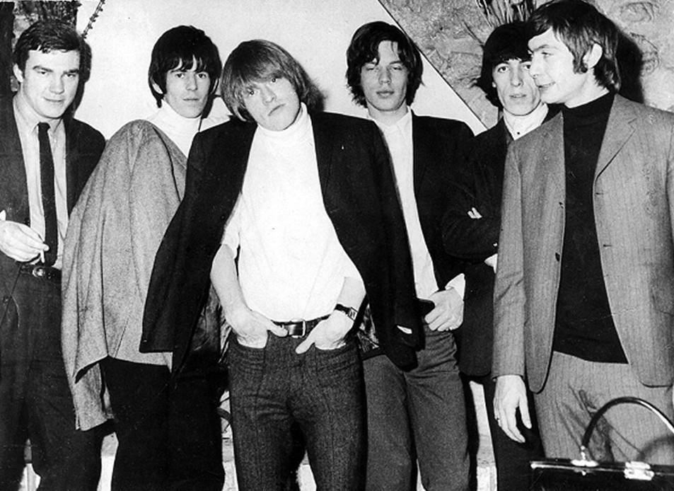 1964 - Première visite en France des Rolling Stones avec Dominic Lamblin