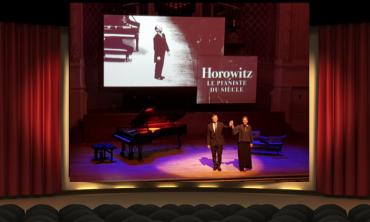 Vladimir Horowitz Francis Huster Claire-Marie Le Guay Théâtre Critique Chronique Blog Steve Suissa Salle Gaveau