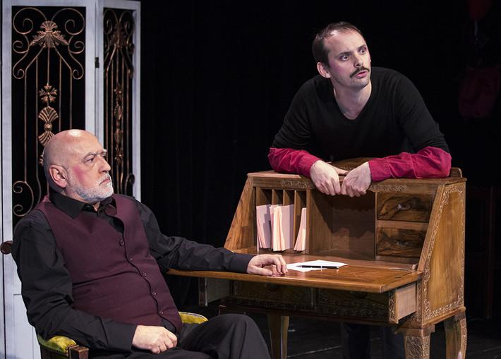 L'affaire Courteline, Lucernaire, critique de théâtre