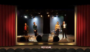 Le monte-plats, pinter, critique théâtre, Lucernaire