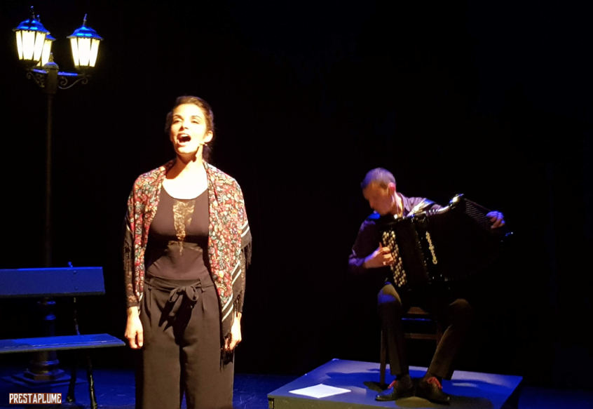 I Love Piaf, Edith Piaf, spectacle chanté, music-hall, Jacques Pessis