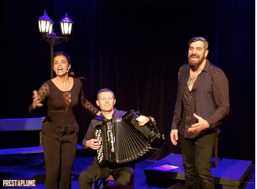 I Love Piaf, Edith Piaf, spectacle chanté, music-hall, Jacques Pessis