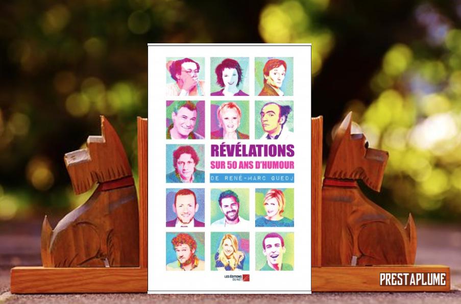 Couverture de Révélations sur 50 ans d'humour
